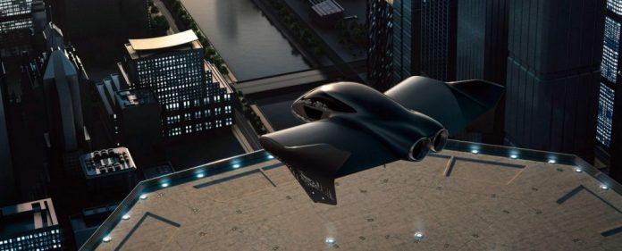 Porsche y Boeing: su coche volador sobre una azotea