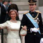 Letizia, Reina Sofia y Felipe VI