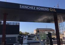 Sánchez Romero supermercados gasolinera