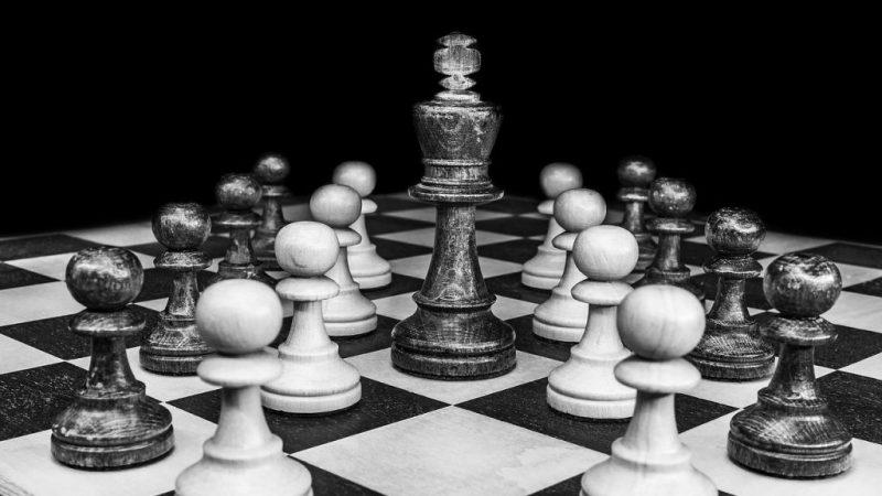 tablero de ajedrez para pensar
