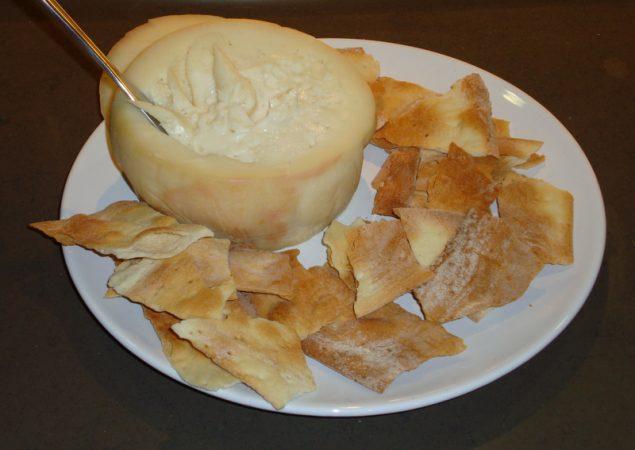 Torta de casar, típica de Cáceres