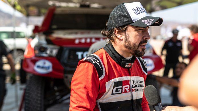 Fernando Alonso Dakar