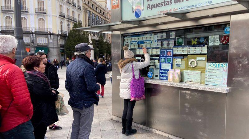 Lotería Navidad gasto españoles