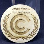 Medallas COP25 Madera Trofeos Romero