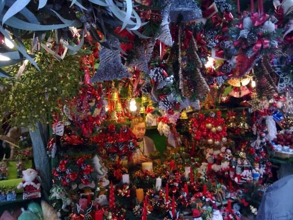 Mercados navideños de Santa Lucía en Barcelona