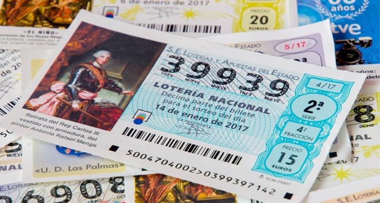 Corazonada Lotería de Navidad 1949