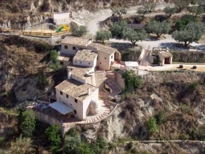 Aldea o pueblos de Murcia, España