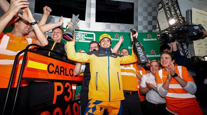Carlos Sainz Jr McLaren