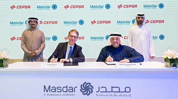 Cepsa y Masdar - nueva empresa conjunta España y Portugal