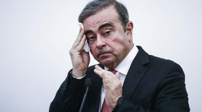 Carlos Ghosn huida