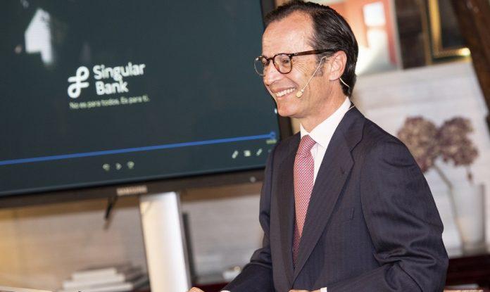 Javier Marin, Consejero Delegado Singular Bank
