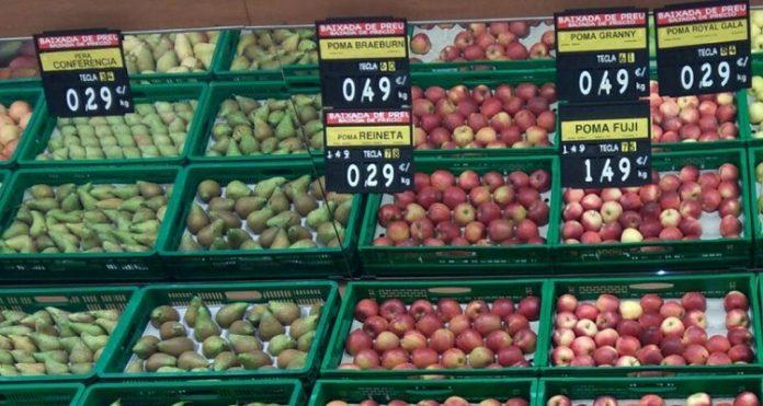 Mercadona fruta temporada