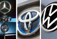 Mercedes-Benz, Toyota y Volkswagen - marcas más valiosas