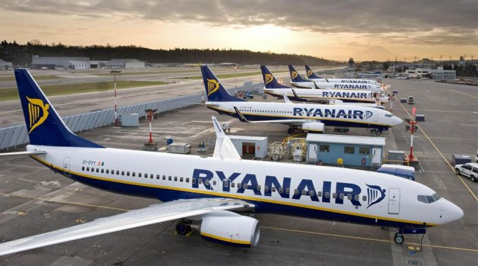 Ryanair bases España