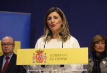 Yolanda Díaz - CEOE - derogar reforma laboral
