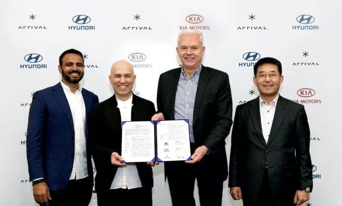 Hyundai vehículos Arrival