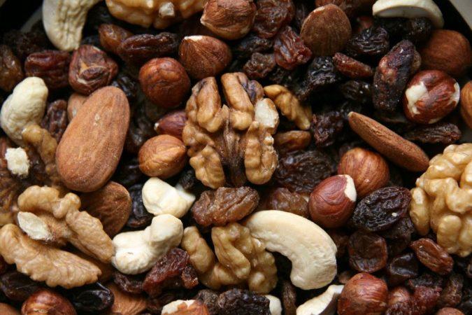 frutos secos variados