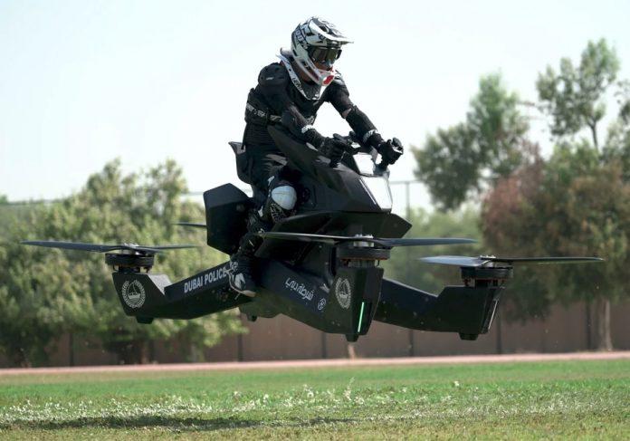 motos voladoras Hoverbike S3