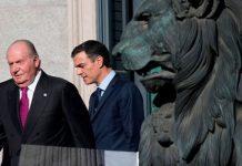 Juan Carlos enfados con Pedro Sánchez