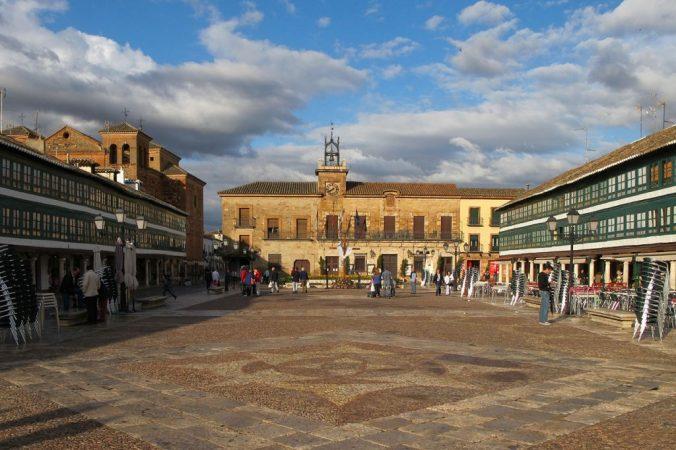 Plaza de Almagro, pueblos