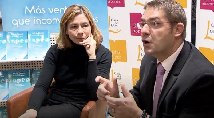 Silvia Taulés presenta el libro 'Vapeo. Más ventajas que inconvenientes'