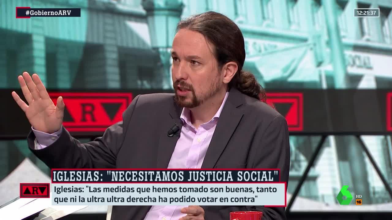Iglesias se reconcilia con Ferreras tras distanciarse de Vasile