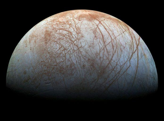 Luna Europa, Google Maps, Tierra, universo
