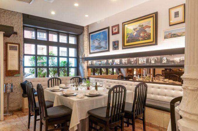 Restaurante Viridiana por dentro