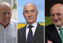 Personas más ricas provincias españolas
