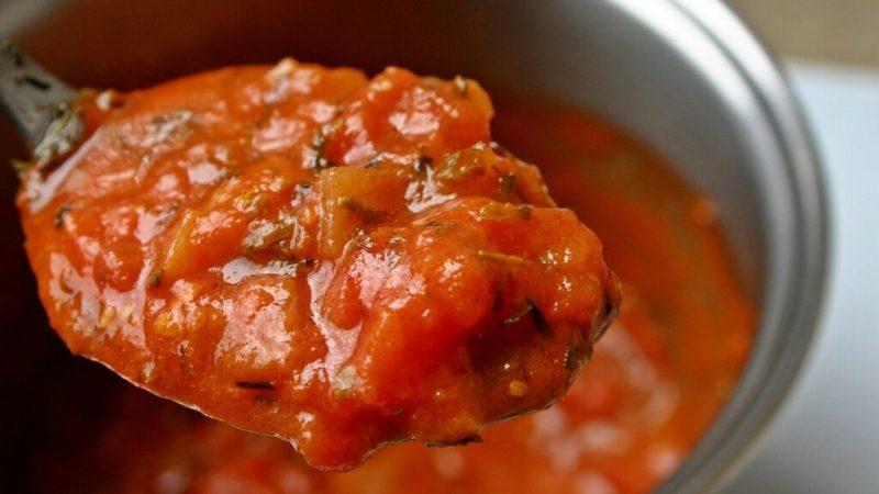 salsa tomate casera