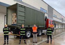 Carrefour dona ropa Ifema