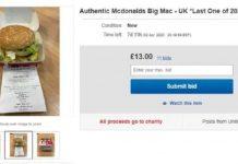 Ebay Mcdonald's Hamburguesas