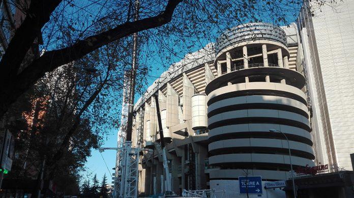Santiago Bernabéu Torre Caleido
