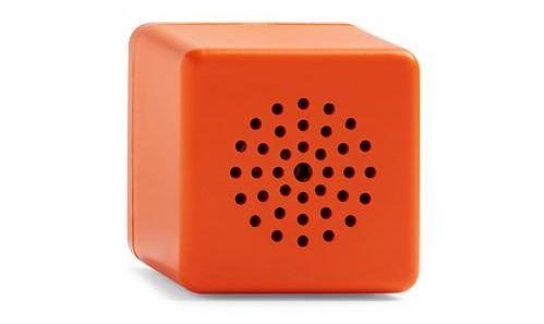 Altavoz inalámbrico naranja con bluetooth de Primark Home