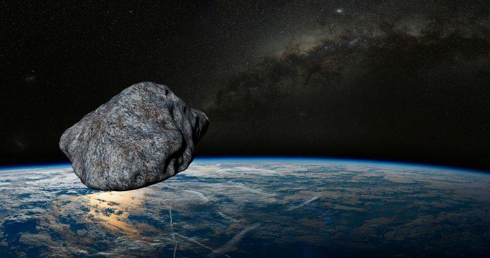 Asteroide pasa cerca de la Tierra, NASA