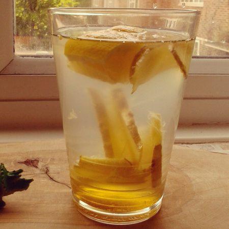 jengibre y limón, perder peso en ayunas
