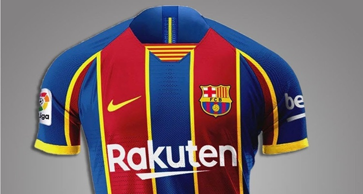 Nueva camiseta FC Barcelona 2021