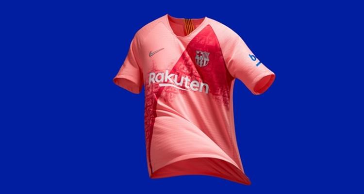Camiseta rosa FC Barcelona polémica
