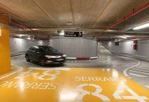 Ferrovial parking personal sanitario