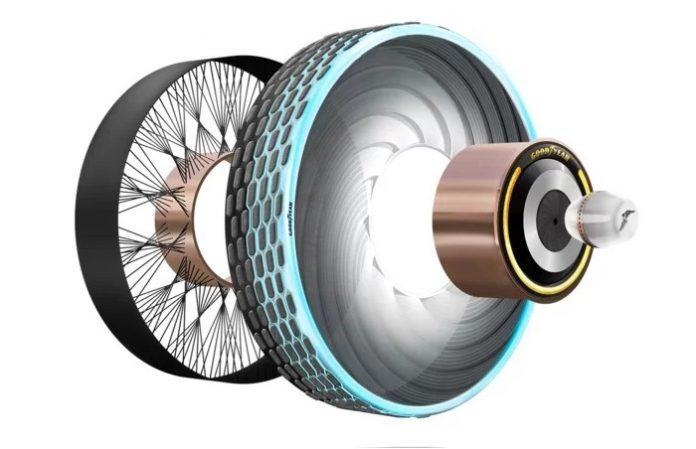 Goodyear Recarge, neumáticos del futuro