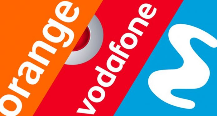 Orange, Movistar, Vodafone sin límite