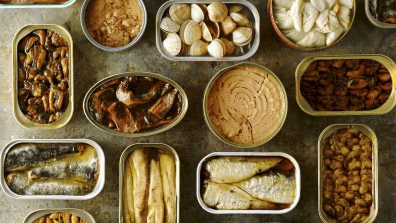 alimentos en conservas