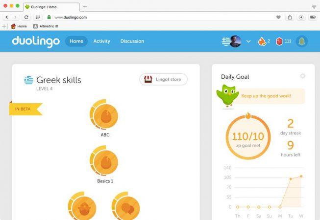 Duolingo y otras aplicaciones para aprender inglés