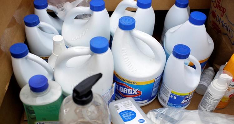 Productos desinfectantes errores