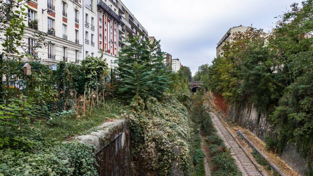 PETITE CEINSURE STATION, EN PARÍS - lugares abandonados mundo