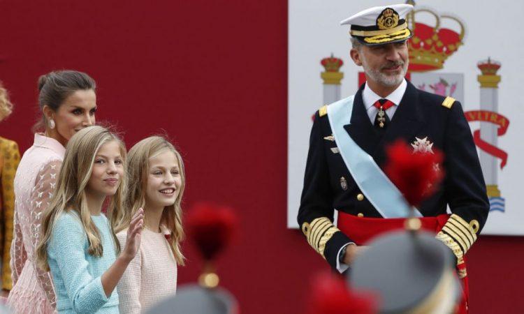 desfile fuerzas armadas casa real