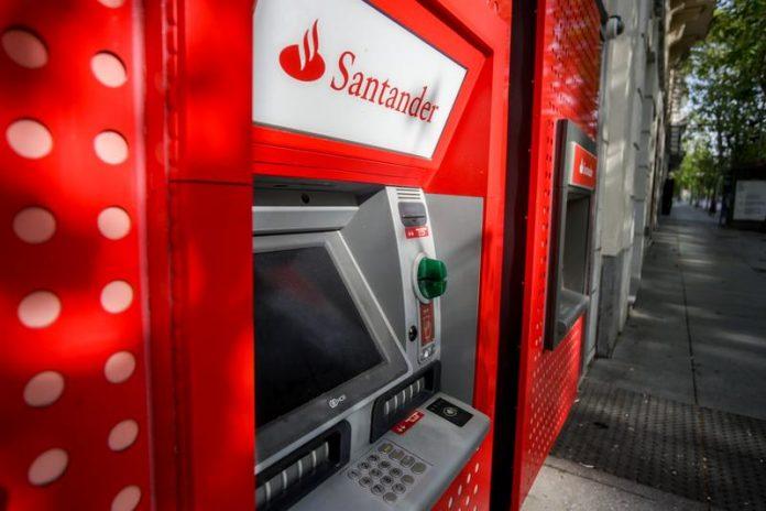 Santander comisiones banco