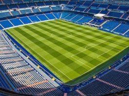 césped Santiago Bernabéu