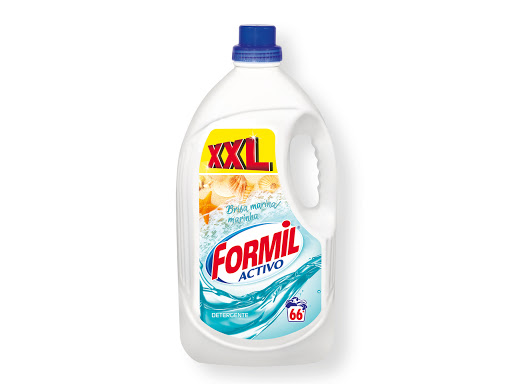 Formal, detergentes para lavadora