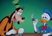 Pato Donald fumando, Disney